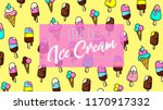life is ice cream  repeat... | Shutterstock .eps vector #1170917332