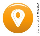 destination icon. simple... | Shutterstock .eps vector #1170943168