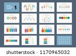 abstract business infographics... | Shutterstock .eps vector #1170965032