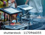 dj place on party.professional... | Shutterstock . vector #1170966055