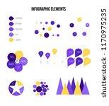 infographic elements  global... | Shutterstock .eps vector #1170975235