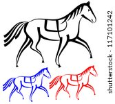 445 draft horse clip art free | Public domain vectors