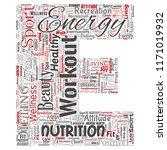 vector conceptual healthy... | Shutterstock .eps vector #1171019932