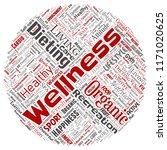 vector conceptual healthy... | Shutterstock .eps vector #1171020625