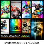 club flyers ultimate collection ... | Shutterstock .eps vector #117102235