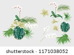 set of elements for design with ... | Shutterstock .eps vector #1171038052