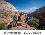 zion national park  utah usa 6... | Shutterstock . vector #1171040305
