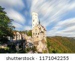 schloss lichtenstein castle... | Shutterstock . vector #1171042255