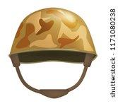 khaki helmet mockup. realistic...   Shutterstock .eps vector #1171080238