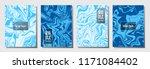 marble texture vector... | Shutterstock .eps vector #1171084402