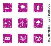 twist business icons set....   Shutterstock .eps vector #1171085002