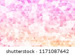 color triangle polygonal... | Shutterstock .eps vector #1171087642