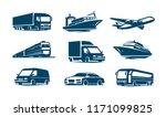 Transport Icon Set....