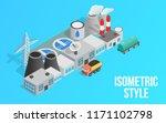 energy factory clip art.... | Shutterstock .eps vector #1171102798