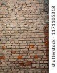 brick wall texture abstract...   Shutterstock . vector #1171105318