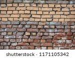 brick wall texture abstract...   Shutterstock . vector #1171105342
