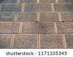 old grunge background stone...   Shutterstock . vector #1171105345