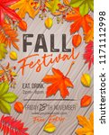 Seasonal Fall Festival Poster...