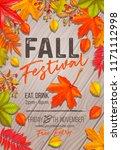 Seasonal Fall Festival Poster...