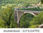 djurdjevica tara bridge ... | Shutterstock . vector #1171114792