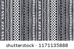 tribal vector ornament.... | Shutterstock .eps vector #1171135888