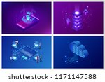 isometric artificial... | Shutterstock .eps vector #1171147588