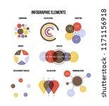 ads rating visualisation... | Shutterstock .eps vector #1171156918