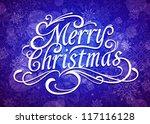 merry christmas vector...   Shutterstock .eps vector #117116128