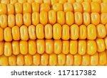 closeup of the yellow corn...   Shutterstock . vector #117117382