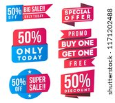 sale  discount  special offer... | Shutterstock .eps vector #1171202488