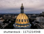 aerial drone photo   the golden ... | Shutterstock . vector #1171214548