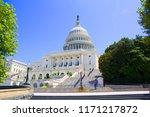 capitol building washington dc | Shutterstock . vector #1171217872