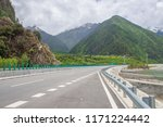 wild field highway  | Shutterstock . vector #1171224442