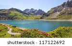 Beautiful Mountain Lake In The...