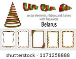 vector elements  ribbons and...   Shutterstock .eps vector #1171258888