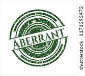 green aberrant rubber stamp | Shutterstock .eps vector #1171293472