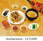 korean food | Shutterstock . vector #1171309
