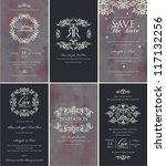 vintage design card | Shutterstock .eps vector #117132256