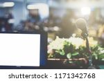 business laptop and... | Shutterstock . vector #1171342768