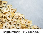 various fruit chips as... | Shutterstock . vector #1171365532