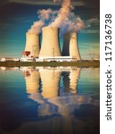 Nuclear Power Plant On The...