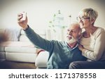 our life is full of memories.... | Shutterstock . vector #1171378558