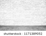 close up of  white brick wall... | Shutterstock . vector #1171389052