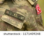 turkish army uniform. turkey... | Shutterstock . vector #1171409248