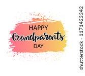 happy grandparents day  ... | Shutterstock .eps vector #1171423342