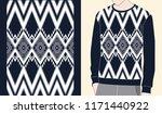 ethnic seamless pattern...   Shutterstock .eps vector #1171440922