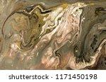 gold marbling texture design.... | Shutterstock . vector #1171450198