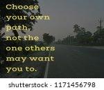 words of wisdom   choose your...   Shutterstock . vector #1171456798