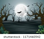 Spooky Forest Of Helloween...