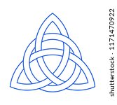 celtic knot icon | Shutterstock .eps vector #1171470922